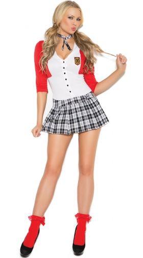 Sexy School Girl Costumes, School Girl Halloween Costumes -8832