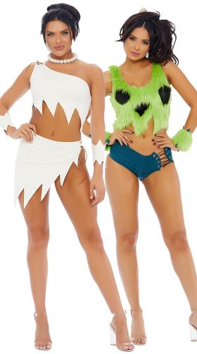 Hot babes in costumes