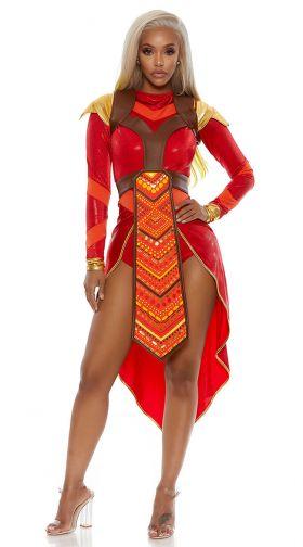 African Warrior Costume