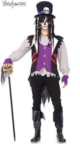 Menu0027s Voodoo Dude Costume. $54.95  sc 1 st  Yandy & Sexy Skeleton Costume u0026 Womenu0027s Skeleton Costumes | Yandy