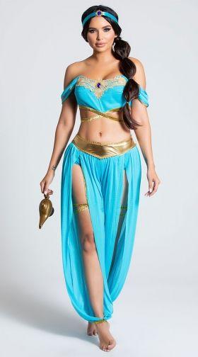 Sexy adult princess jasmine costume