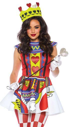 Sexy Queen Of Hearts Costumes Queen Of Hearts Halloween