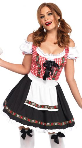 Sexy Beer Girl Costume, German Beer Girl Costume, Beer -3540