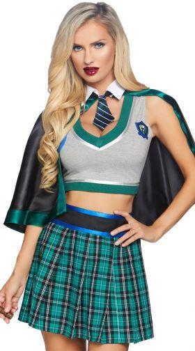 Sexy School Girl Costumes, School Girl Halloween Costumes -2674