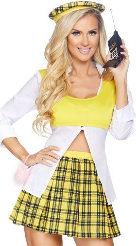 Sexy School Girl Costumes, School Girl Halloween Costumes -1077