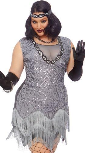 Plus Size Flapper Costumes: 1920s Plus Size Flapper Costumes ...