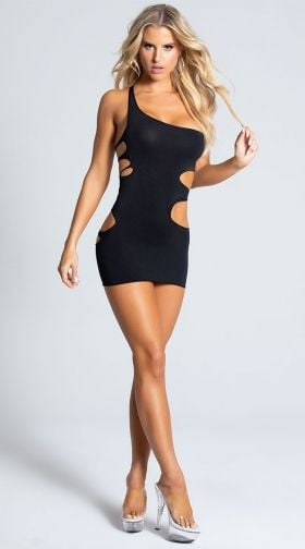 Women/'s White Seductive Party Dress Clubwear Mini Dress with Strap Back