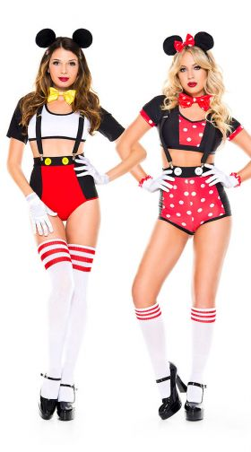 Sexy Mouse Duo Costume