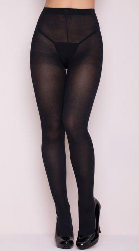 Something and playboy shiny black pantyhose