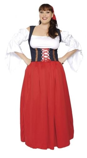 Plus Size Movie Character Costume, Sexy Plus Size Movie Character, Plus Size Character Costumes-3217