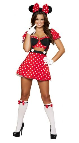 Sexy mickey mouse costume for men