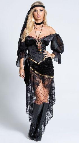 Sexy Gypsy Costumes Gypsy Dance Costume Gypsy Halloween