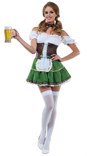 Sexy Beer Girl Costume, German Beer Girl Costume, Beer -9790