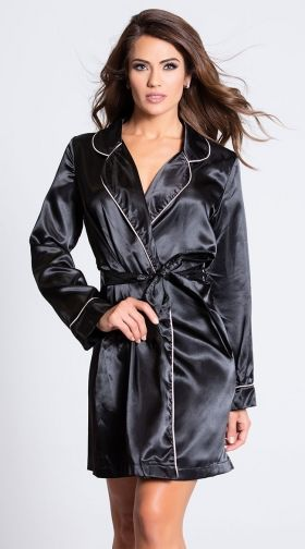 5b8d451c7df4d Women's Robes: Sexy Lingerie Robes, Silk Robes, Sheer Robes & More
