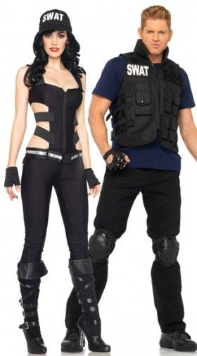 Sexy SWAT Costumes, Adult SWAT Team Halloween Costumes, Sexy