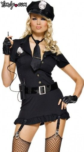 Officer Sexy Costume. $47.95  sc 1 st  Yandy & Sexy Cop Costumes u0026 Police Costumes | Yandy