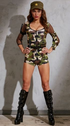 sc 1 st  Yandy & Military Costumes Sexy Military Costume Military Halloween Costumes