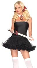 Petticoat Dress - Black