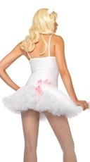 Petticoat Dress - White