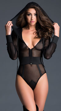 Chloe Sweet and Delicious Bodysuit - Black