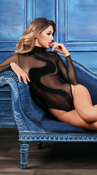 Alixx Wild Bodysuit - Black