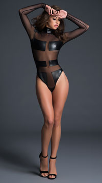 Alixx Spectacular Bodysuit - Black