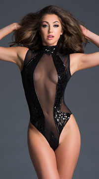 Coco Enchanting Sequin Bodysuit - as shown