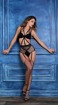 Freya Angel of Love Teddy - Black