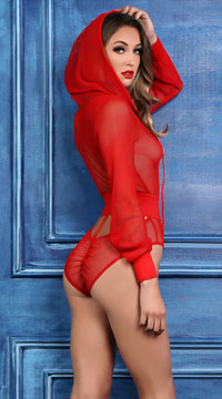 Chloe Sweet and Delicious Bodysuit - Red