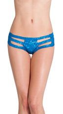 Cut Out Rave Short - Blue