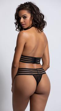 Secret Liaison Bra Set - Black