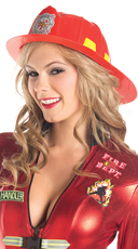 Smokin' Hot Firefighter Hat - Red