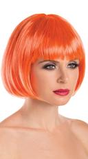 Foxy Babe Bob Wig - Orange