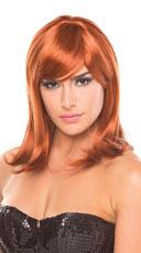 Medium Length Doll Wig - Auburn