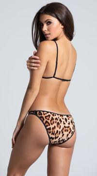 Sexy Leopard Print Teddy - Leopard
