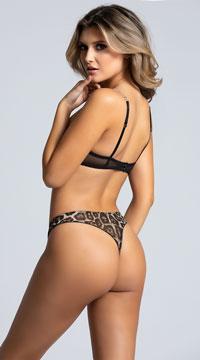 Wild Thing Bra Set - Leopard