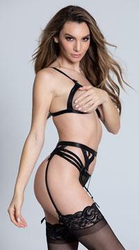 Celine Bra Set - Black