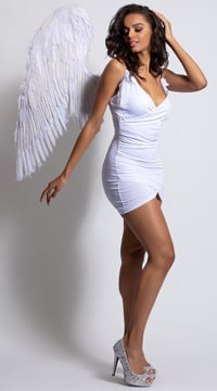 White Angel Wings - White
