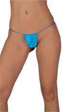 Tiny G-String Panty - Turquoise