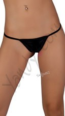 Low Rise G-String - Black
