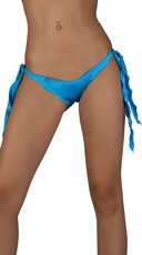 Ribbon Tie Side Panty - Turquoise