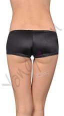 Wide Side Go-Go Shorts - Black