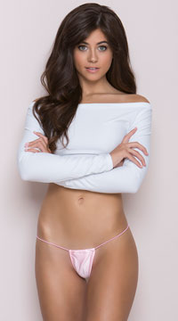 Tiny G-String Panty - Baby Pink