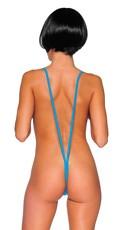 Sexy Suspender Teddy - Turquoise