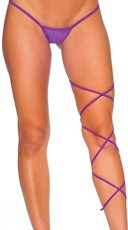 Spaghetti Body Wrap - 60 inch - Purple