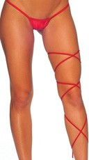 Spaghetti Body Wrap - 60 inch - Red