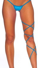 Spaghetti Body Wrap - 60 inch - Turquoise