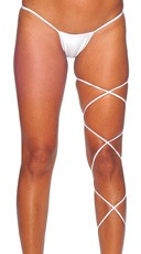 Spaghetti Body Wrap - 60 inch - White