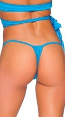 T-Shape G-String - Turquoise