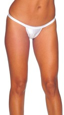 Comfort Strap Thong - White